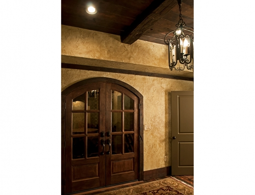 Luxury Finished Basement – Old World Wine Cellar
