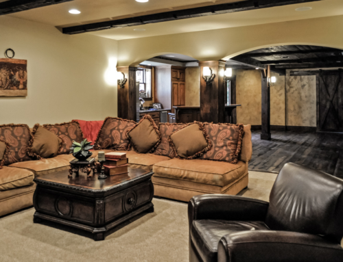 Luxury Finished Basement – Reclaimed Barnwood